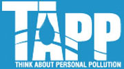 TAPP logo: Think About Personal Pollution